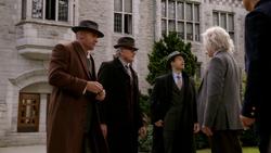 Mick, Martin and Nate talk to Albert Einstein
