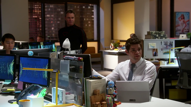 File:Winn explaining Myriad's purpose to Cat, Maxwell, and Supergirl.png