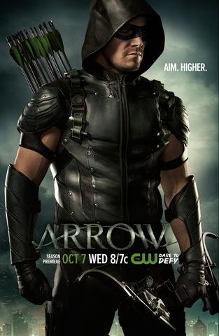 File:Arrow season 4 poster - Aim. Higher..png