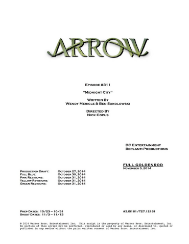 File:Arrow script title page - Midnight City.png