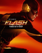 The Flash promo poster - Try to keep up