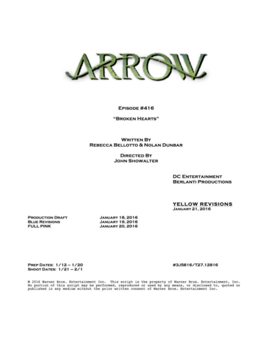 File:Arrow script title page - Broken Hearts.png