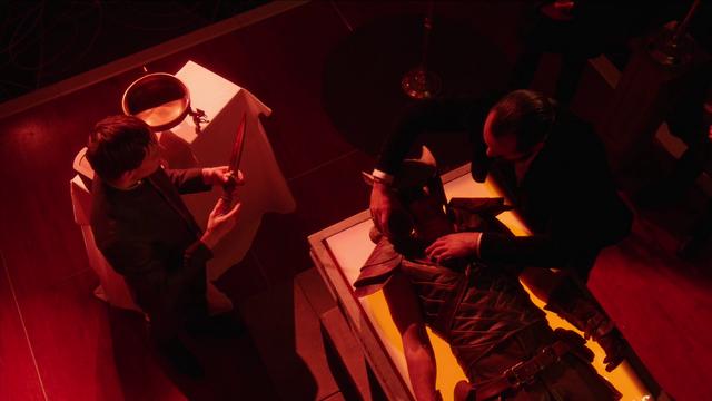 File:Vandal Savage gathers Carter Hall's blood.png