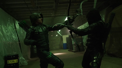 Green Arrow vs Prometheus