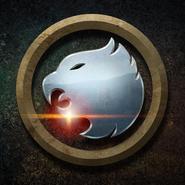 Hawkman and Hawkgirl emblem