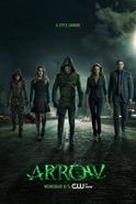 Arrow season 3 poster - a city's saviors