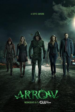 File:Arrow season 3 poster - a city's saviors.png