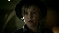 Hunter Zolomon as a child