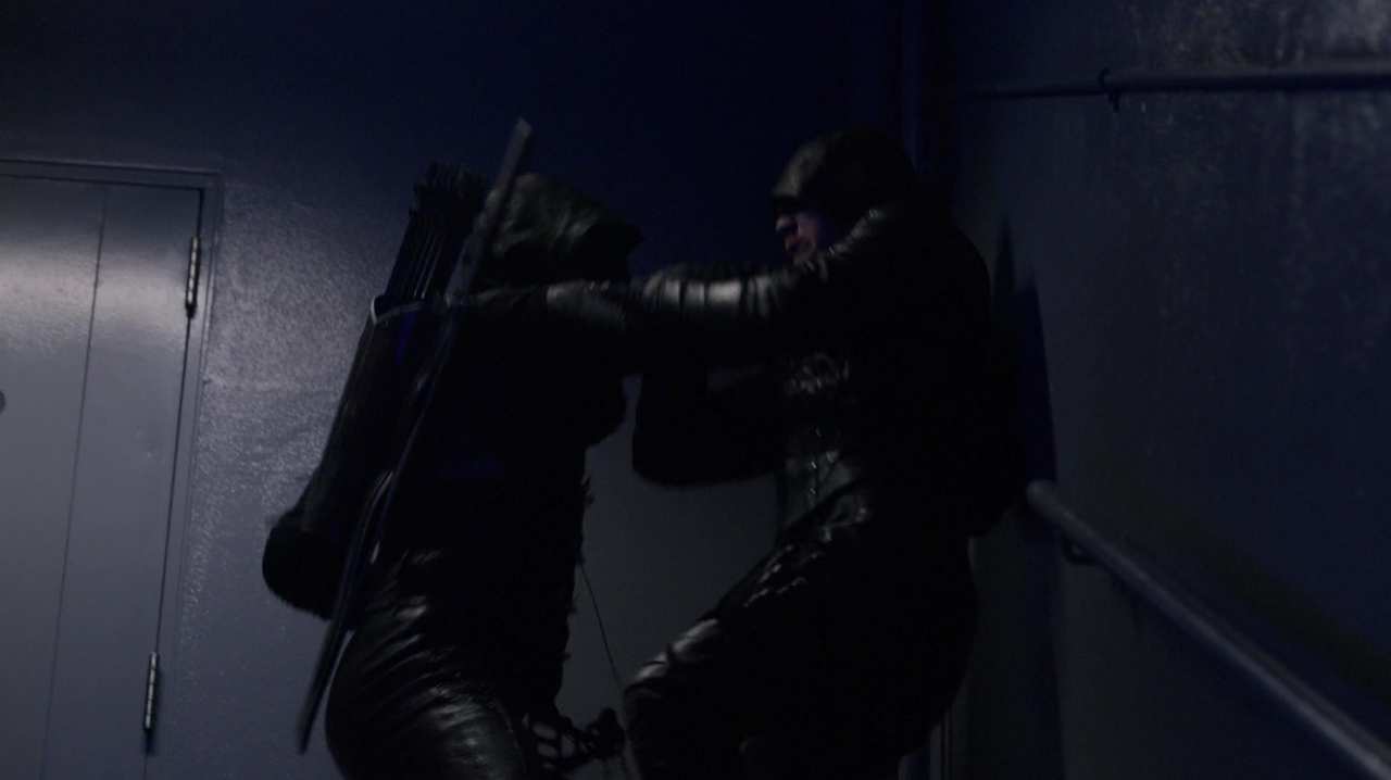 Prometheus fights Green Arrow.png