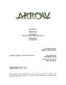 Arrow script title page - Blind Spot.png