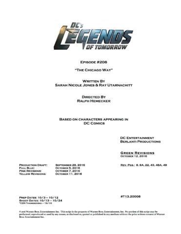 File:DC's Legends of Tomorrow script title page - The Chicago Way.png