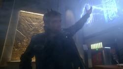 Weather Wizard summoning lightning