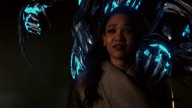 Archivo:Savitar prepares to kill Iris.png