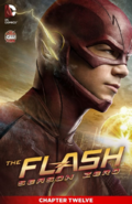 The Flash Season Zero chapter 12 digital cover