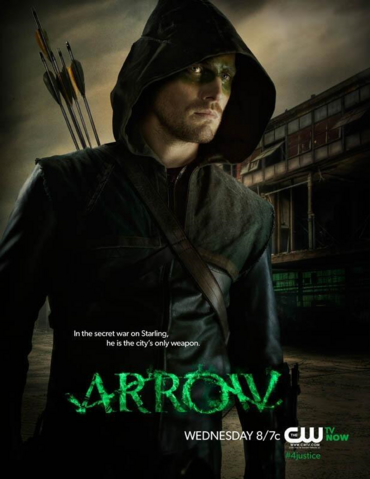 Arquivo:Arrow promo - In the secret war on Starling, he is the city's only weapon.png