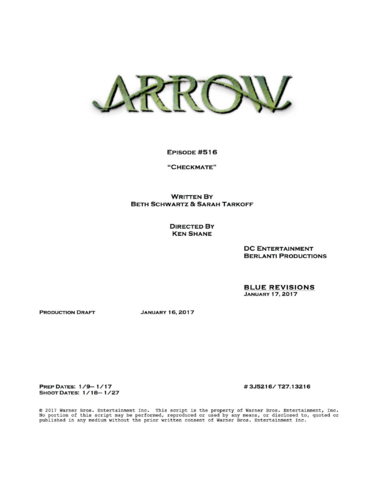 File:Arrow script title page - Checkmate.png