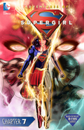 Adventures of Supergirl chapter 7 full cover