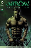 Arrow Season 2.5 chapter 18 digital cover