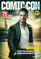 TV Guide - September 14, 2013 Arrow issue reverse cover