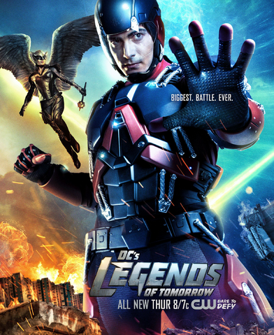 File:DC's Legends of Tomorrow season 1 poster - Biggest. Battle. Ever.png