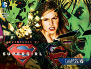 Adventures of Supergirl chapter 4 cover