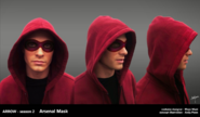 Arsenal concept mask artwork 2