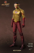 Kid Flash concept art