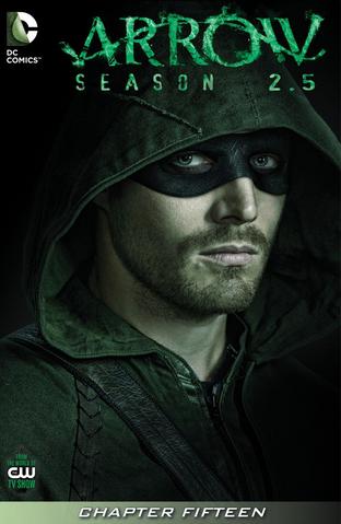Archivo:Arrow Season 2.5 chapter 15 digital cover.png