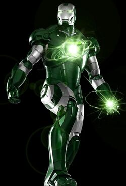 Green Iron suit