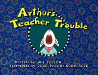 Arthur's Teacher Trouble title card
