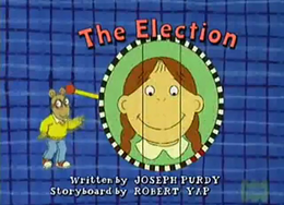 The Election Title Card