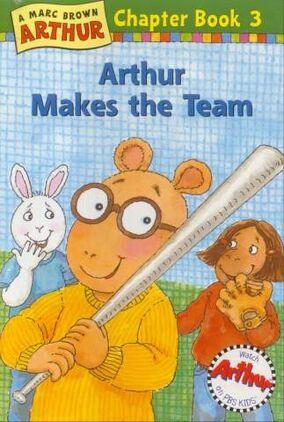 ArthurMakesTheTeam book