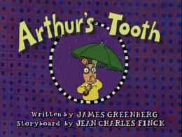 Arthur's Tooth Title Card