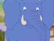 ChickenPox, Arthur's blue Elephant's face
