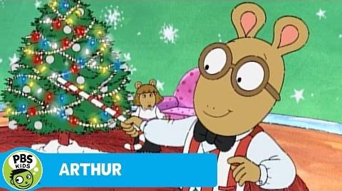 ARTHUR Arthur Sings About Christmas PBS KIDS