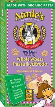 Annie's Homegrown D.W. Whole Wheat Pasta & Alfredo