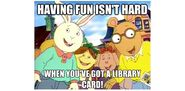 Library Card Facebook promo