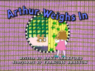 Arthur Weights In 8