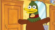 Ed crosswire duck costume
