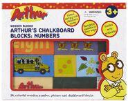 Number blocks box front