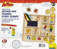 Arthur and friends stamp