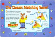 Arthur memory game back