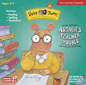 Arthur's Teacher Trouble LB Cover