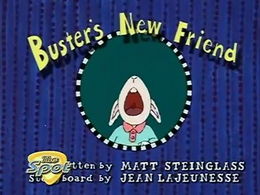 Buster's New Friend Title Card