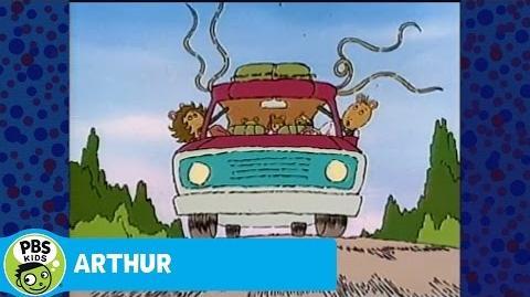 ARTHUR Sharky Car Chase