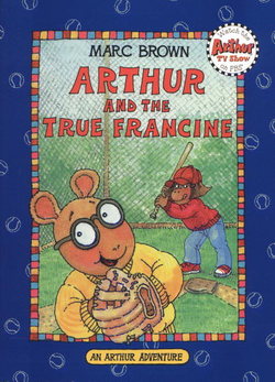 Arthur and the True Francine 1996 Re-issue Cover