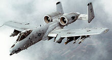 300px-A-10 Thunderbolt II In-flight-2