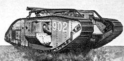 File:250px-British Mark V-star Tank.jpg