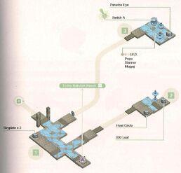 Rakshek Resort Basement Map 1