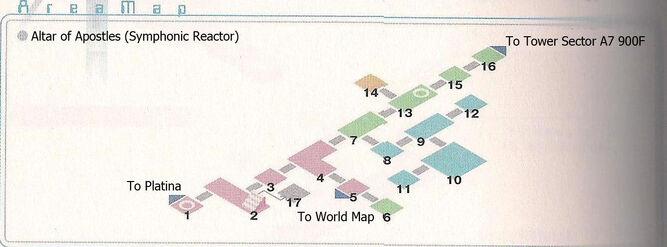 Symphonic Reactor Area Map